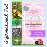Fluency Close Reading Garden Bugs Passages & Comprehension Activities {Grade 4}