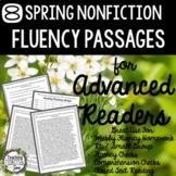 Fluency Passages, Spring Reading Passages, Reading Passages, Comprehension