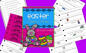 Easter Fluency Strips