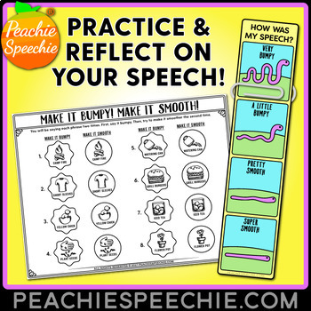 Spring Fluency Therapy Activities (Stuttering Therapy)