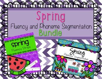 Spring Fluency and Phonemic Awareness Bundle