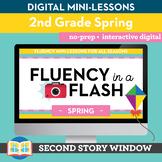 Spring Fluency in a Flash 2nd Grade • Digital Fluency Mini Lessons
