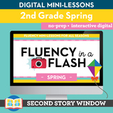 Spring Fluency in a Flash 2nd Grade • Digital Fluency Mini