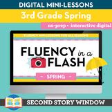 Spring Fluency in a Flash 3rd Grade • Digital Fluency Mini Lessons