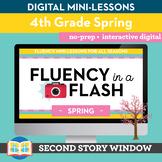 Spring Fluency in a Flash 4th Grade • Digital Fluency Mini Lessons