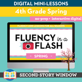 Spring Fluency in a Flash 4th Grade • Digital Fluency Mini