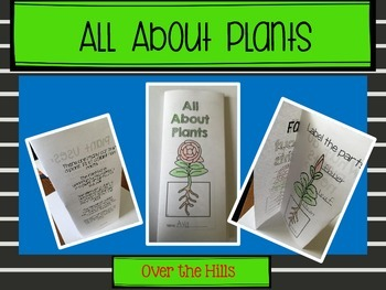 Spring Foldables: Nonfiction Print & Go {Wacky Weather, Plants, Mexico}