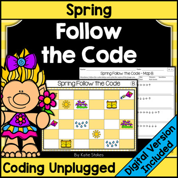 Spring Follow the Code (Coding Unplugged)