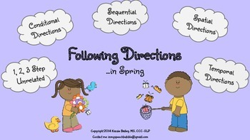 Spring-Following Directions(1,2,3 Step, Conditional,Sequential,Spatial,Temporal)