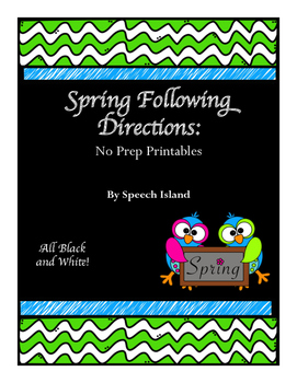#Mar17SLPmusthave Spring Following Directions
