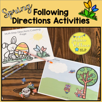 Spring Following Directions Activities