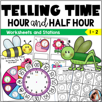 Telling Time to the Hour and Half Hour K - 2
