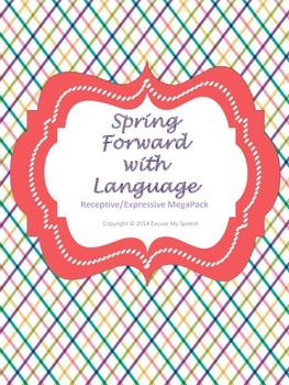 Spring Forward with Language - Receptive/Expressive MEGAPACK