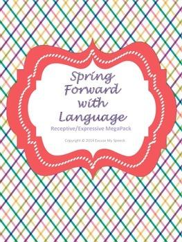 Spring Forward with Language - Receptive/Expressive MEGAPACK