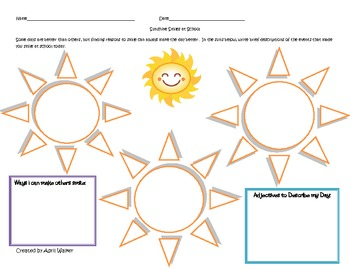 Spring Forward with Thanks - Graphic Organizers for Gratitude