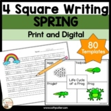 4 Square Writing: Spring Packet