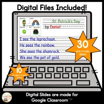 4 Square Writing Spring Packet