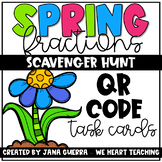 Spring Fraction Action QR Scavenger Hunt