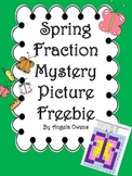Spring Fraction Mystery Picture Freebie