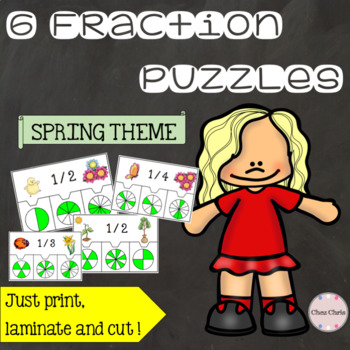 Spring Fraction Puzzles !