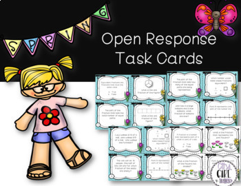 Spring Fraction Review Task Cards