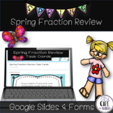 Spring Fraction Review for Google or SeeSaw (Digital Learning)