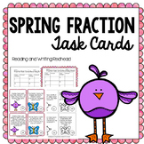Spring Fraction Task Cards