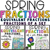 Spring Fractions Bundle Distance Learning