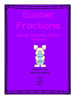 Spring Fractions - Identify, Compare, Order