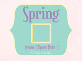 Spring Frame Clipart Pack II