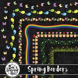 Spring Borders Set 1