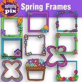 Spring Frames Clipart