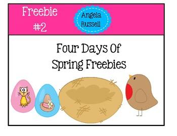 Spring Freebie #2