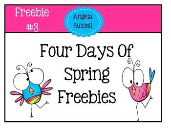 Spring Freebie #3