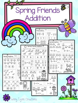 Spring Friends Addition Packet