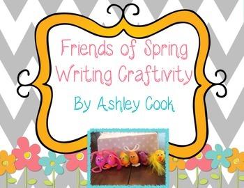 Spring Friends Writing Craftivity