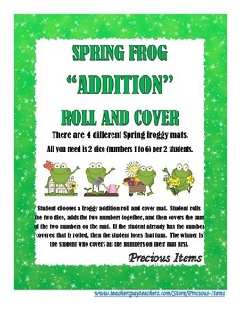 Spring Frog Addition Roll and Cover