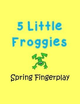 Spring Frog Finger Play