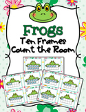 Spring Frog Ten Frames Count the Room