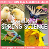 Spring Life Science BUNDLE    Distance Learning