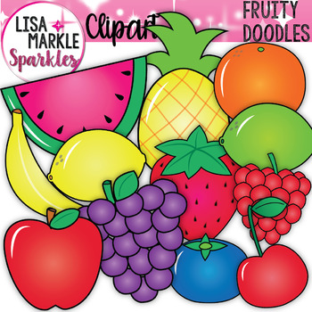 Spring Fruit Clipart