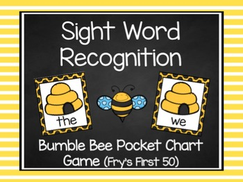 Spring Fry's First 50 Sight Word Game (10 Themes)