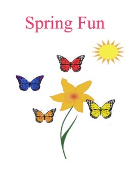 Spring Fun Book
