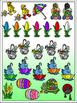 Spring Fun Clipart   w/10 FREE Elements Included