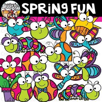 Spring Fun Clipart {Spring Clipart}