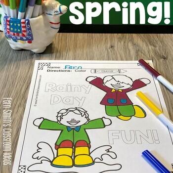 Spring Coloring Pages - 42 Pages of Spring Coloring Fun | TpT