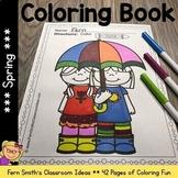 Spring Coloring Pages - 42 Pages of Spring Coloring Fun