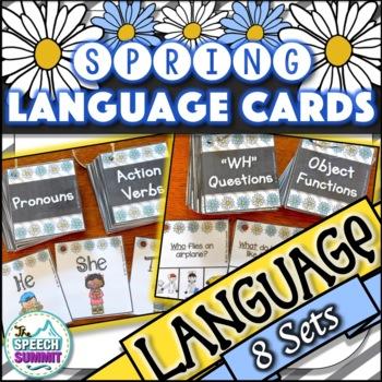 Spring Fun Decks: Language Concepts