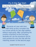 Spring Fun: Fly A Kite For Math (Two Digit Addition Withou