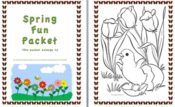 Spring Fun Packet